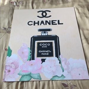 Other - Hand painted Chanel
